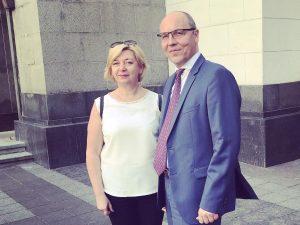 Світлана Остапа отримала Почесну грамоту Верховної Ради