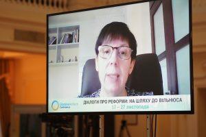 Наталія Лигачова: «Фінансова прозорість, виважене регулювання онлайн-медіа, системне запровадження медіаграмотності — перші кроки для протидії дезінформації вже зараз»
